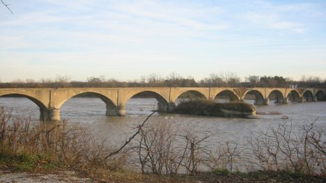 Interurban Arch Bridge Maumee River Waterville, OH